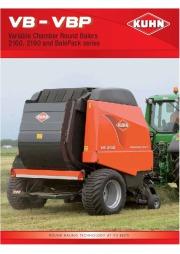 Kuhn VB VBP Variable Chamber Round Balers 2160 2190 Agricultural Catalog page 1