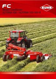 Kuhn FC Mower Conditioner ALTERNA 400 ALTERNA 500 500 Agricultural Catalog page 1