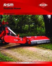 Kuhn Rsm Rsm Roadside Mower RSM 180 210 Agricultural Catalog page 1