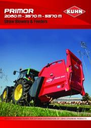 Kuhn PRIMOR 2060 M 3570 M 5570 M 2060 M 3570 M 5570 M Agricultural Catalog page 1