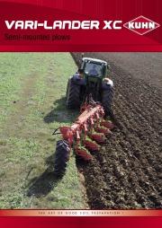 Kuhn VARI LANDER XC Semi Mounted Plows Agricultural Catalog page 1