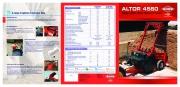 Kuhn Altor 4560 Agricultural Catalog page 1