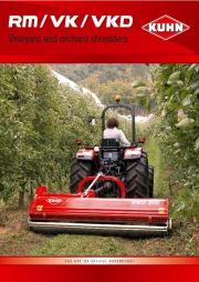 Kuhn RM VK VKD Vineyardchard Shredders Agricultural Catalog page 1