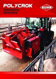 Kuhn POLYCROK Desensiladoras Distribuidoras Agricultural Catalog page 1